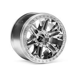 Hpi Racing  6-SHOT ST WHEEL (CHROME/2PCS) 116736 2