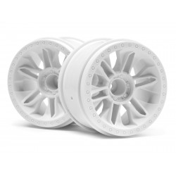 Hpi Racing  6-SHOT ST WHEEL (WHITE/2PCS) 116738