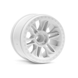 Hpi Racing  6-SHOT ST WHEEL (WHITE/2PCS) 116738 2