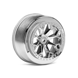 Hpi Racing  8-SHOT SC WHEEL (CHROME/2PCS) 116739 2