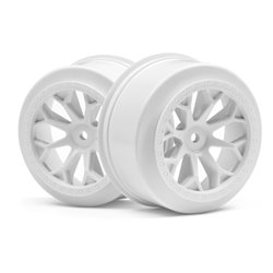 Hpi Racing  8-SHOT SC WHEEL (WHITE/2PCS) 116741