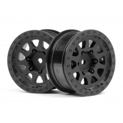 Hpi Racing  CR-10 WHEEL 1.9 (BLACK/2PCS) 116840