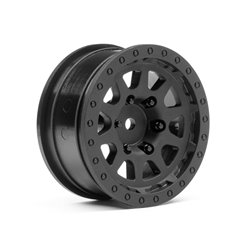 Hpi Racing  CR-10 WHEEL 1.9 (BLACK/2PCS) 116840 2