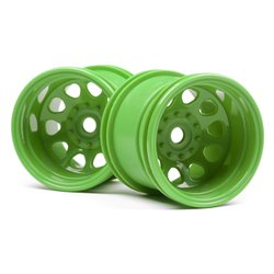 Hpi Racing  CLASSIC KING WHEEL GREEN (2.2IN/2PCS) 120039