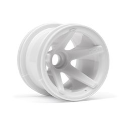Hpi Racing  SUPER STAR MT WHEELS FRONT (WHITE/2.2IN/2PCS) 2100 2