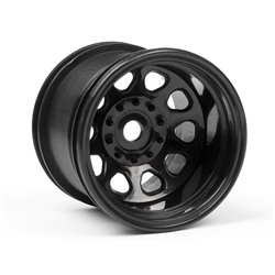 Hpi Racing  CLASSIC KING WHEEL BLACK (2.2IN/2PCS) 3061 2