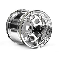 Hpi Racing  CLASSIC KING WHEEL CHROME (56x51mm/2pcs) 3062 2