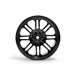 Hpi Racing  8 SPOKE WHEEL BLACK CHROME (83X56MM/2PCS) 3173 2