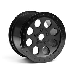 Hpi Racing  MAG-8 WHEEL BLACK (83X56mm/2pcs) 3186 2
