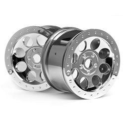 Hpi Racing  MAG-8 WHEEL CHROME (83X56MM/2PCS) 3187