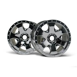 Hpi Racing  WARLOCK WHEEL CHROME (83X56MM/2PCS) 3192