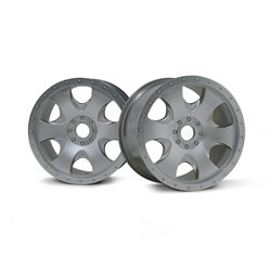 Hpi Racing  WARLOCK WHEEL MATT CHROME(83X56MM/2PCS) 3193