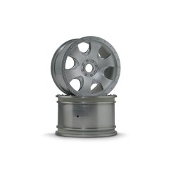 Hpi Racing  WARLOCK WHEEL MATT CHROME(83X56MM/2PCS) 3193 2