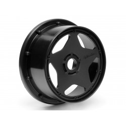 Hpi Racing  SUPER STAR WHEEL BLACK (120X60MM/2PCS) 3221 2
