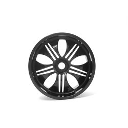 Hpi Racing  TREMOR WHEEL BLACK (115X70MM 7INCH/2PCS) 3251 2