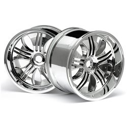 Hpi Racing  TREMOR WHEEL CHROME (115X70MM 7INCH/2PCS) 3252