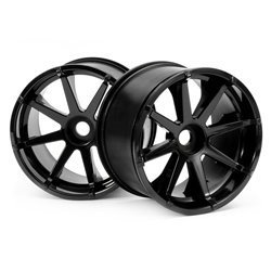 Hpi Racing  BLAST WHEEL BLACK (115X70MM 7INCH/2PCS) 3256