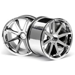 Hpi Racing  BLAST WHEEL CHROME (115X70MM 7INCH/2PCS) 3257