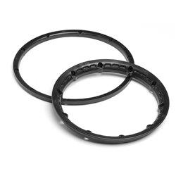 Hpi Racing  HEAVY DUTY WHEEL BEAD LOCK RINGS (BLACK/FOR 2 WHEELS) 3271