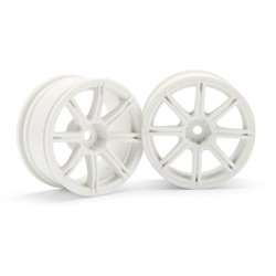 Hpi Racing  WORK EMOTION XC8 WHEEL 26MM WHITE (3MM OFFSET) 3303