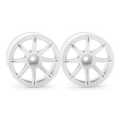 Hpi Racing  WORK EMOTION XC8 WHEEL 26MM WHITE (9MM OFFSET) 3305