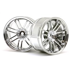 Hpi Racing  LP29 WHEEL RAYS VOLKRACING RE30 CHROME (2PCS) 3340