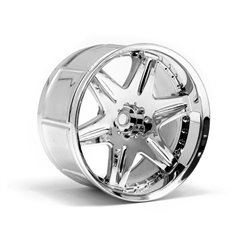 Hpi Racing  LP32 WHEEL WORK LS406 CHROME (2PCS) 3344 2