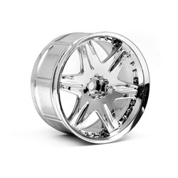 Hpi Racing  LP35 WHEEL WORK LS406 CHROME (2PCS) 3345 2