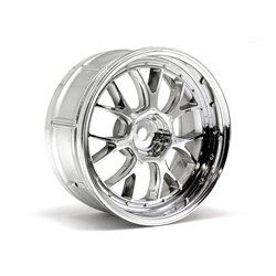 Hpi Racing  LP29 LM-R WHEEL CHROME (2PCS) 33459 2