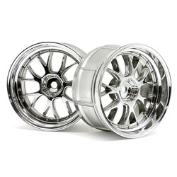 Hpi Racing  LP32 LM-R WHEEL CHROME (2PCS) 33460