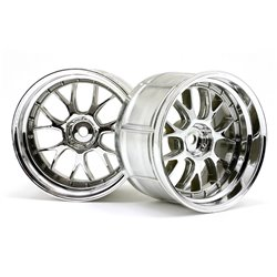Hpi Racing  LP35 LM-R WHEEL CHROME (2PCS) 33461
