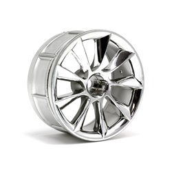 Hpi Racing  LP29 WHEEL ATG RS8 CHROME (2pcs) 33462 2