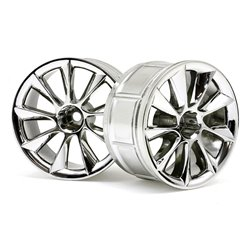 Hpi Racing  LP32 WHEEL ATG RS8 CHROME (2PCS) 33463