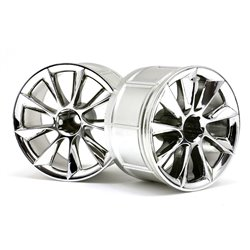 Hpi Racing  LP35 WHEEL ATG RS8 CHROME (2PCS) 33464