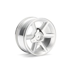 Hpi Racing  GT WHEEL SILVER (6MM OFFSET/2PCS) 33471 2