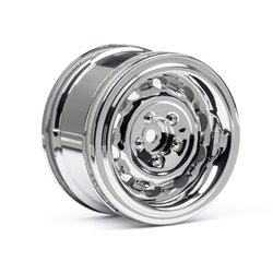 Hpi Racing  VINTAGE WHEEL CC TYPE 31MM CHROME(6MM OFFSET/2PCS) 33473 2