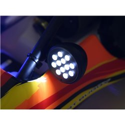 Hpi Racing  LED LIGHT WITH BATTERY INDICATOR SET (WHITE) 336 2