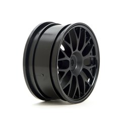 Hpi Racing  MESH WHEEL 26MM (BLACK)(1MM OFFSET) 3711