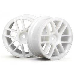 Hpi Racing  SPLIT 6 WHEEL 26MM WHITE 3795
