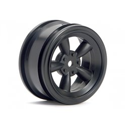 Hpi Racing  VINTAGE 5 SPOKE WHEEL 26MM BLACK (0MM OFFSET) 3816 2