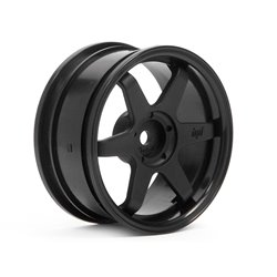 Hpi Racing  TE37 WHEEL 26MM BLACK (3MM OFFSET) 3841