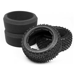 Hpi Racing  DIRT BUSTER BLOCK TIRE M COMPOUND (170x60mm/2pcs) 4848 2