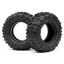 Hpi Racing  ROVER 1.9 TIRE (RED/ROCK CRAWLER/2PCS) 67913