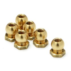 Hpi Racing  BALL NUT M2 X 3 8 X 4.5 72335