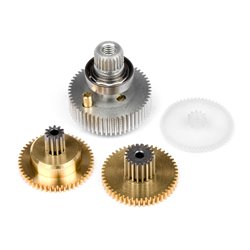 Hpi Racing  SERVO GEAR SET (METAL/SF-5) 80595