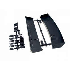 Hpi Racing  MOLDED WING SET (2 TYPES/1/10 SCALE/BLACK) 85197
