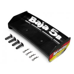 Hpi Racing  WING SET (BLACK/BAJA 5B) 85452