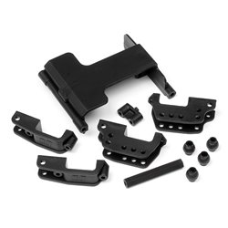 Hpi Racing  SERVO MOUNT/HIGH LINK BRACKET SET (WHEELY KING) 85632