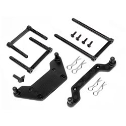 Hpi Racing  BODY MOUNT SET 89x287mm (WHEELY KING) 85633