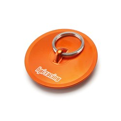 Hpi Racing  ALUMINUM AIR FILTER MAINTENANCE CAP (ORANGE) 86700
